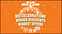Up to 50% seasonal discounts for all Sampath Credit Cardholders