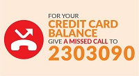 SampathCards Missed Call Alerts